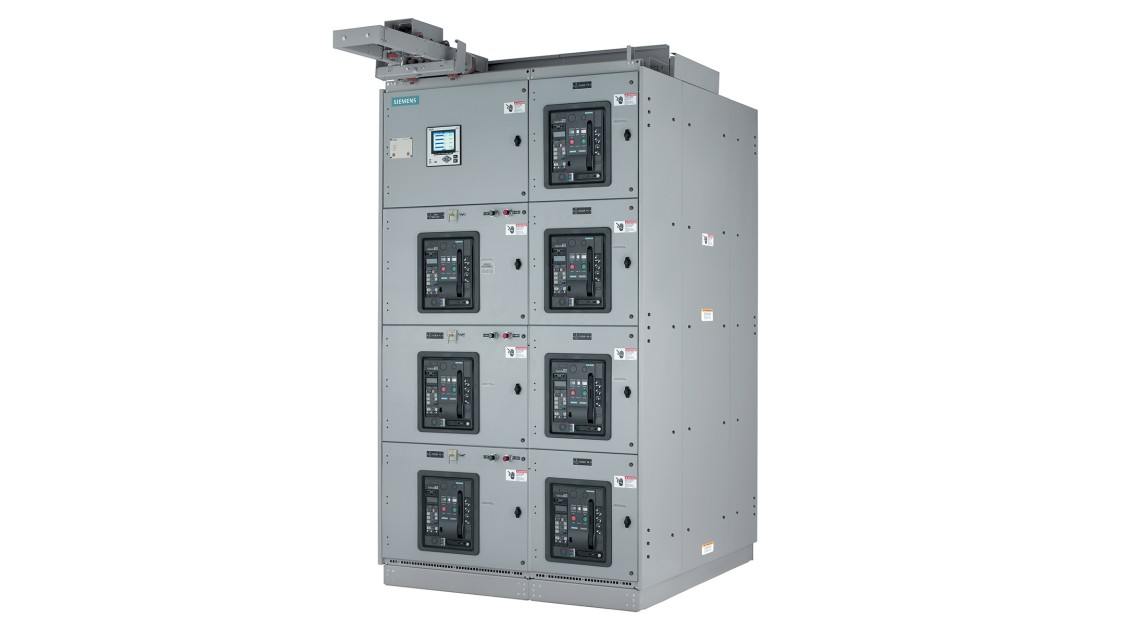 Siemens WL low-voltage arc-resistant switchgear