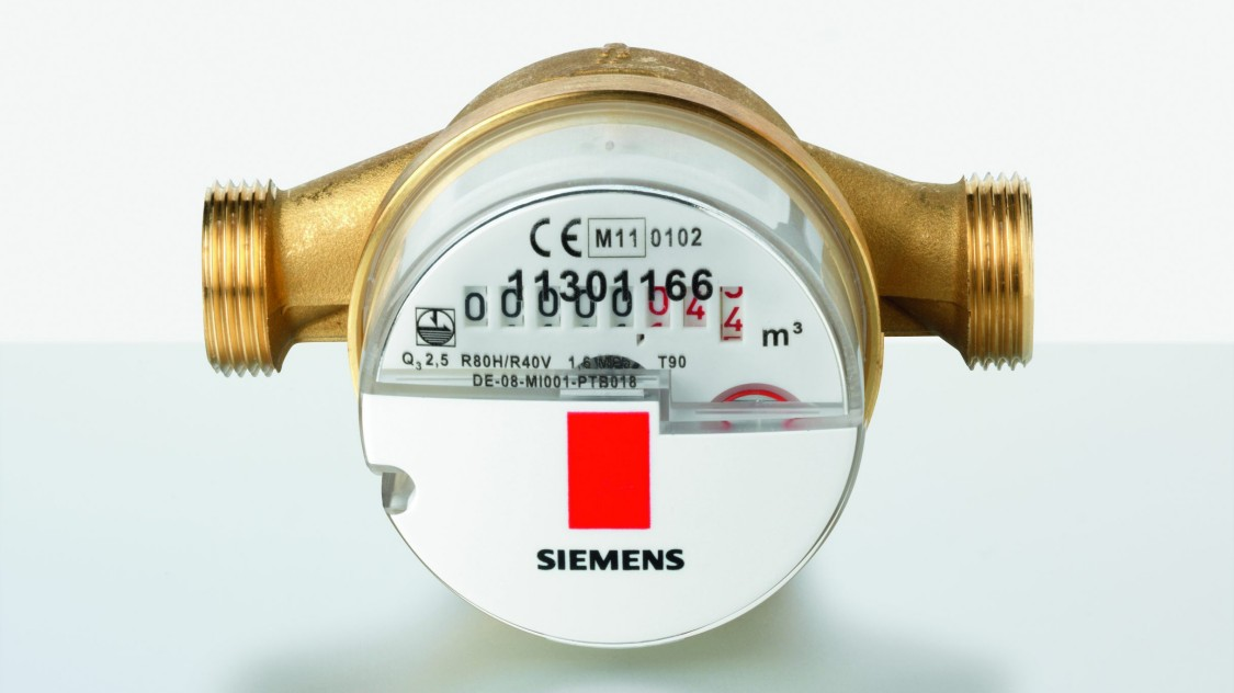 Mechanical water meters