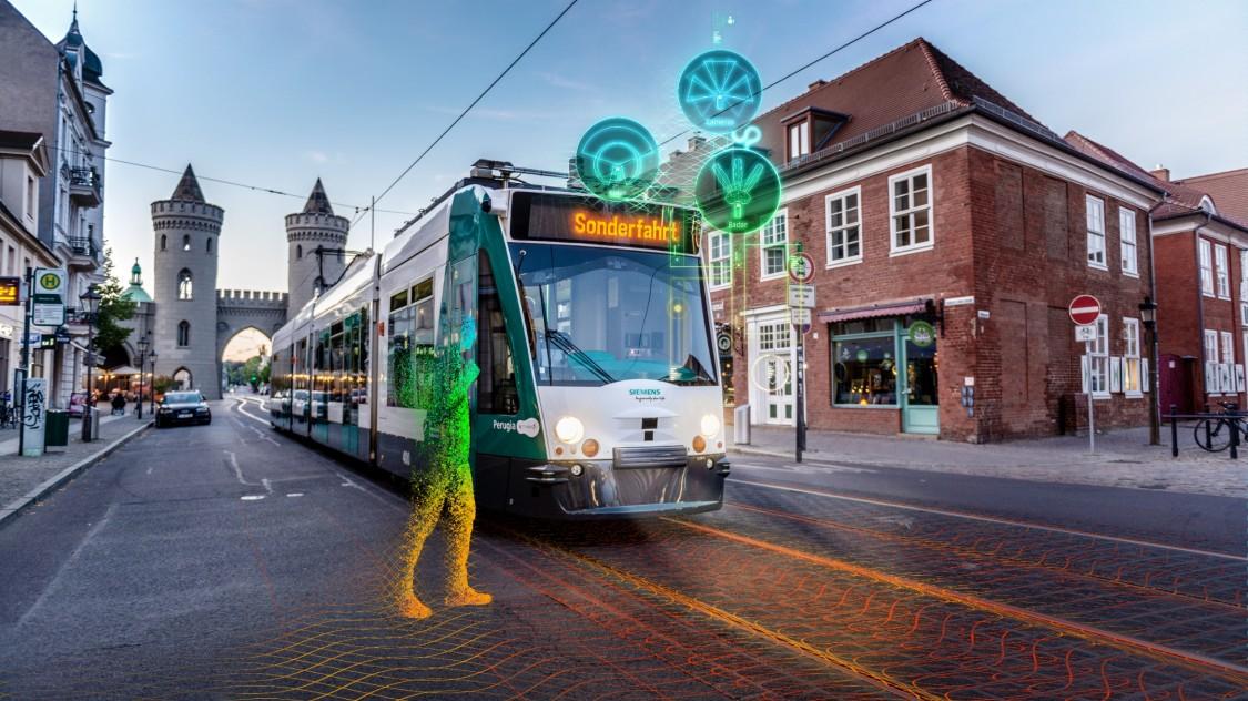 Autonomous tram Potsdam