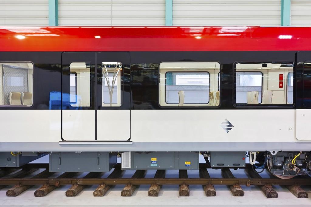 Siemens hat erstmals das neue Metrofahrzeug für das weltweit größte Nahverkehrsprojekt vorgestellt