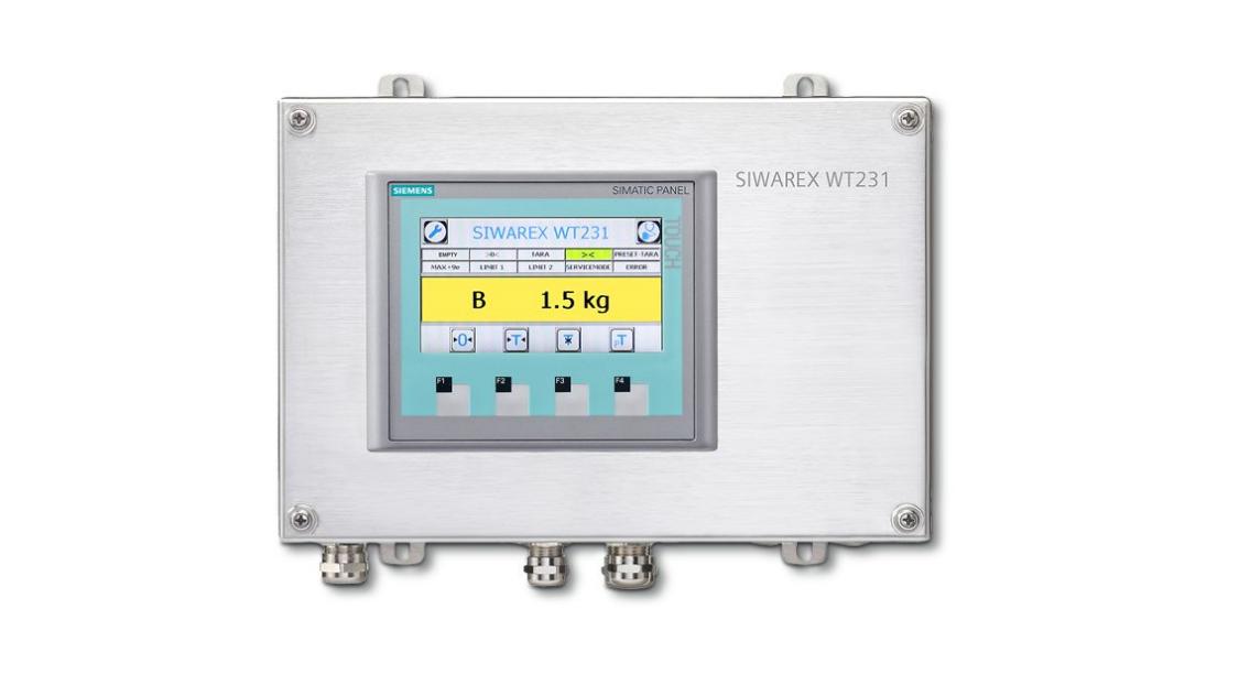SIWAREX WT231 Weighing Terminal