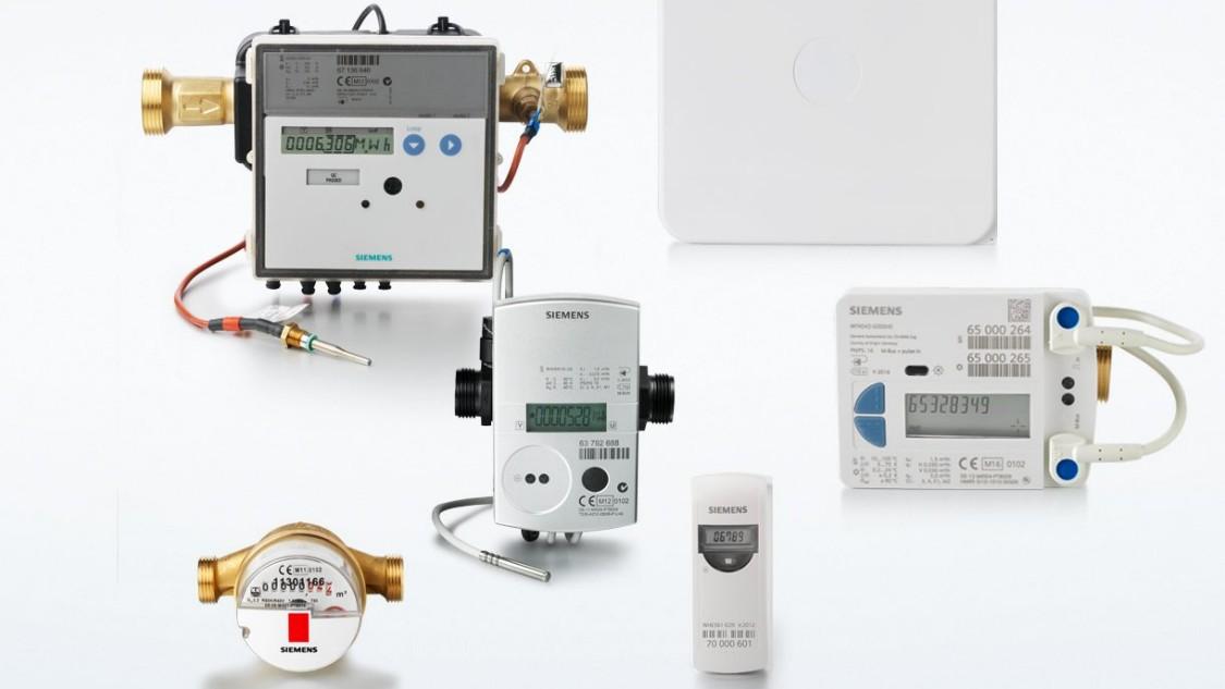 Medidores de Agua y Energía Siemens