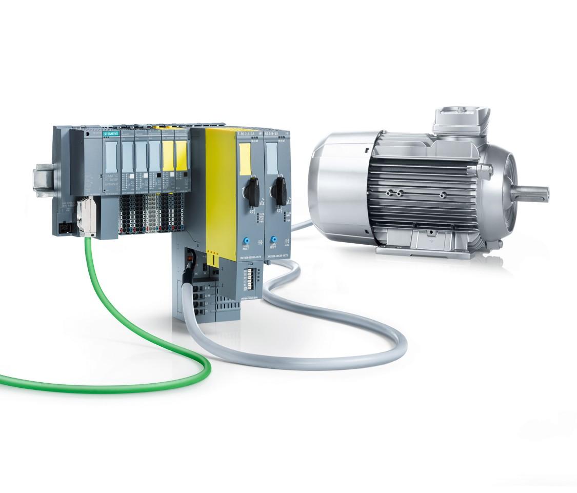 Güçlü SIMATIC ET 200SP motor yol vericiler