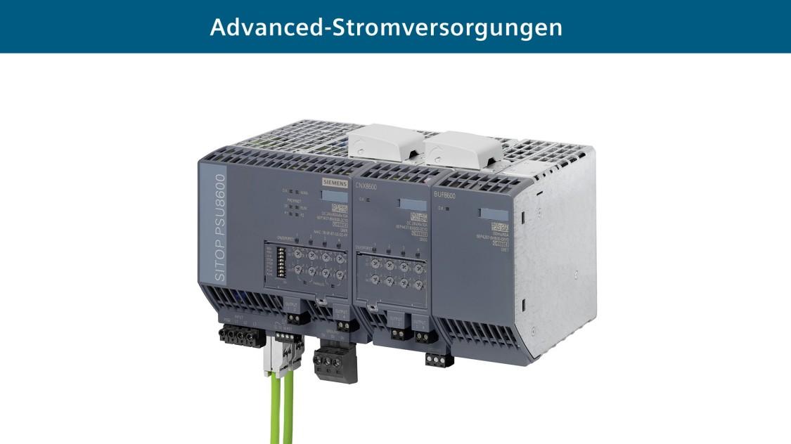 Advanced Stromversorgungssystem  SITOP PSU8600