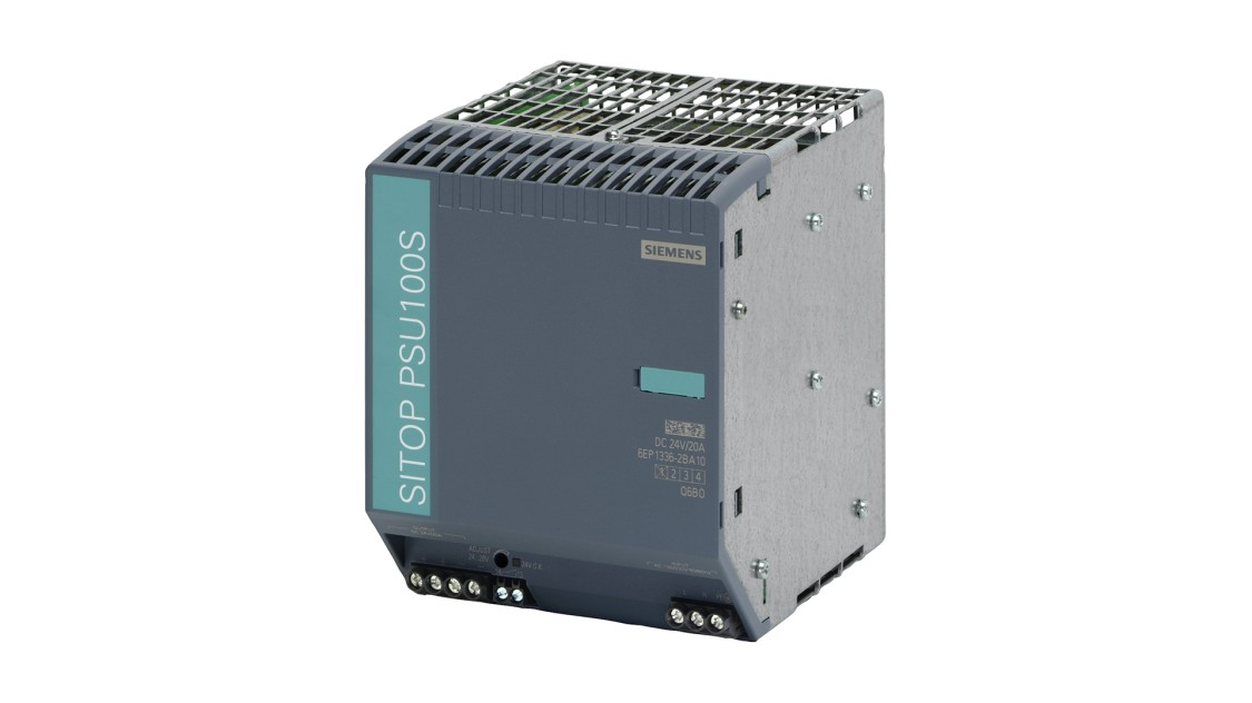 Product image SITOP PSU100S, 1-phase, DC 24 V/20 A