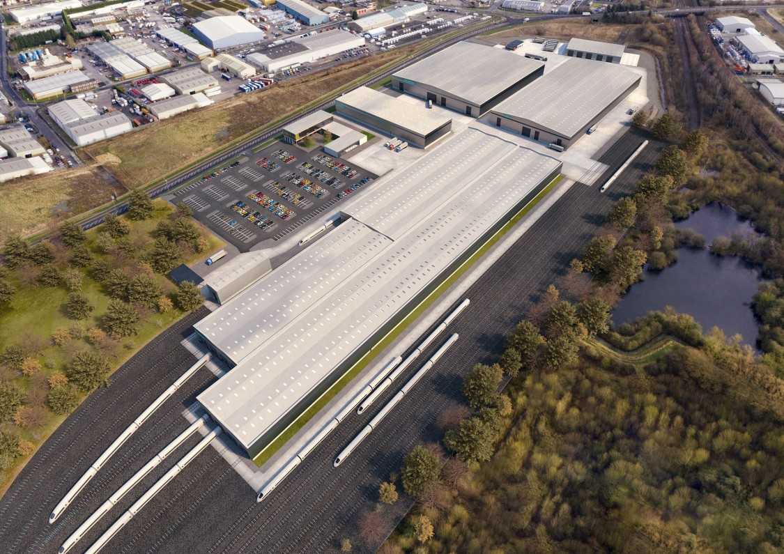 Siemens Mobility Goole train manufacturing site