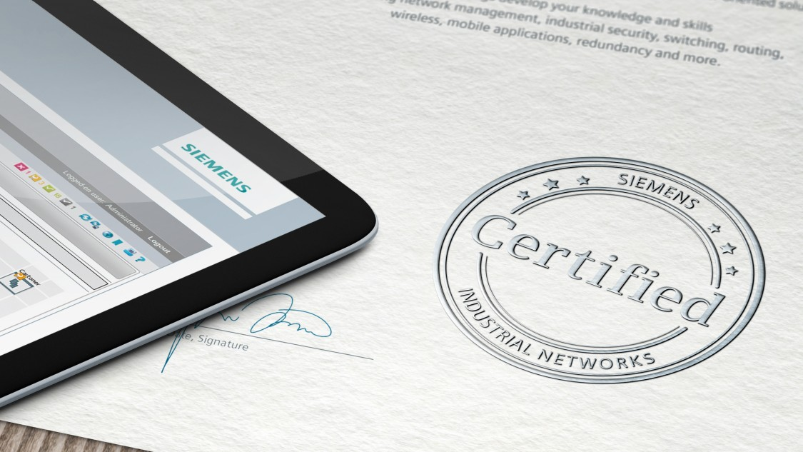 industrial network certification