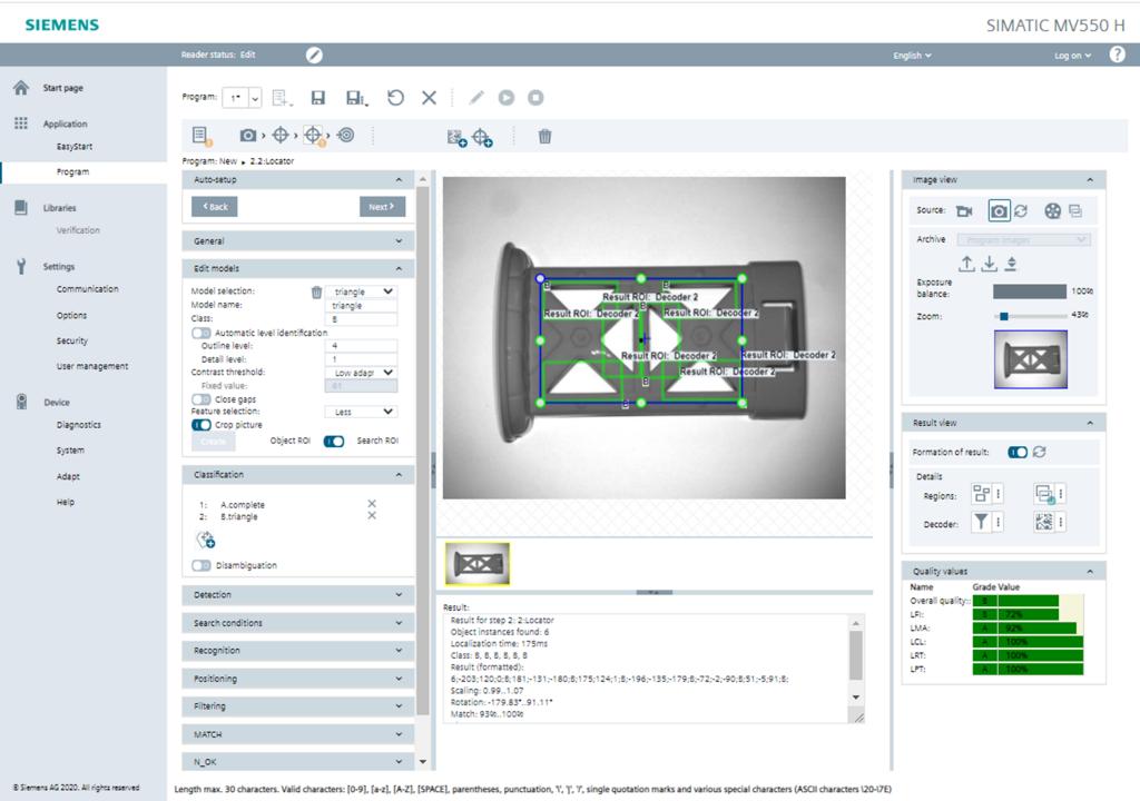 Objekterkennung mit Pat-Genius – Optische Lesegeräte verfügen durch Firmware-Update über Objekterkennungs-Lizenz Pat-Genius