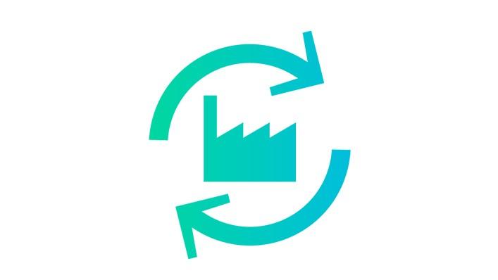 Icon maximierte Anlagen- und Maschinenlebensdauer