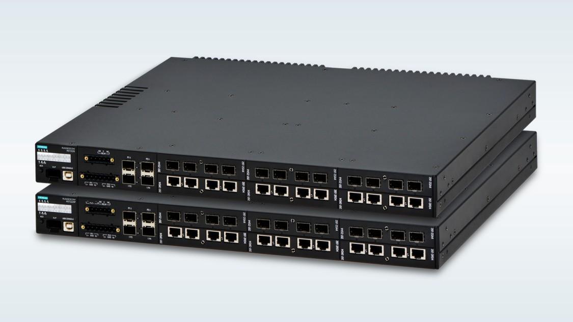 Zwei leistungsstarke Switches mit hoher Portdichte und 10 Gigabit Uplinks