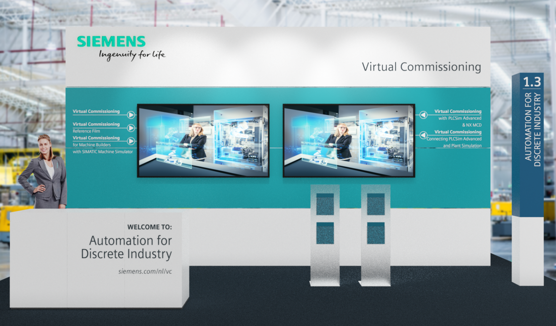 Automation for Discrete Industry - Virtual Commissioning image