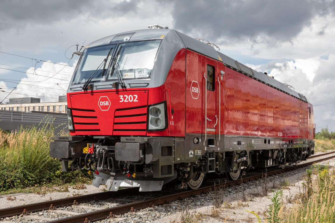 Vectron locomotive in Denmark