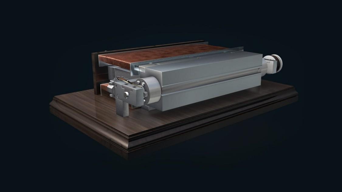 Werner von Siemens' dynamo machine, 1866