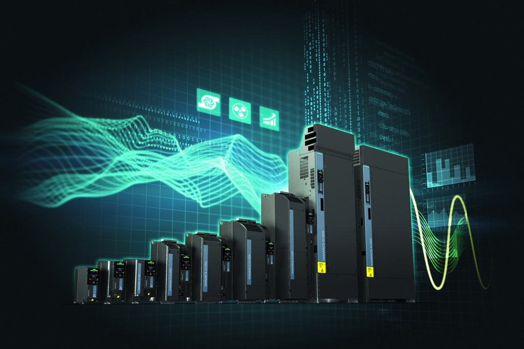New Sinamics G120X converter series specializing in infrastructure applications