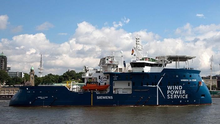 Wind service operation vessel
