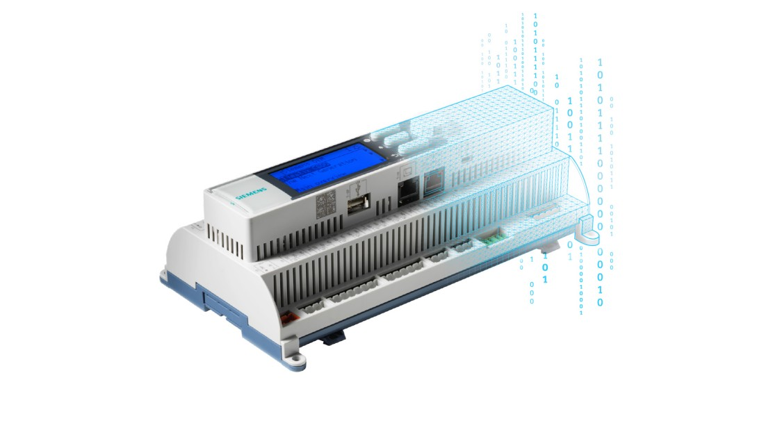Climatix C600 controller with cloud connectivity