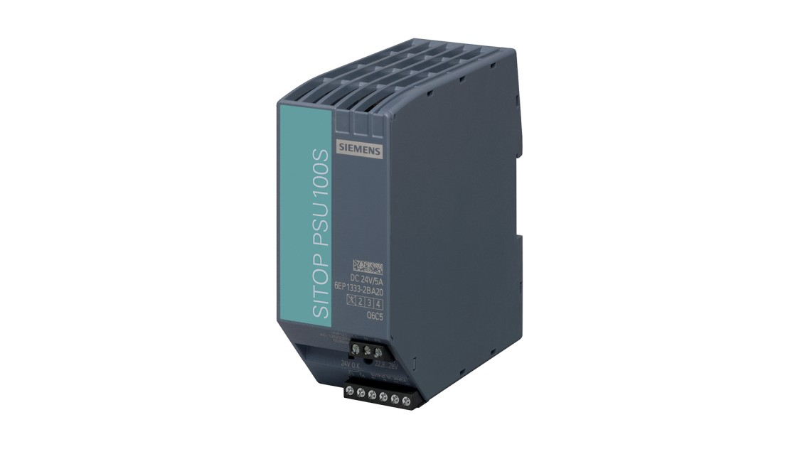 Produktbild SITOP PSU100S, 1-phasig, DC 24 V/5 A
