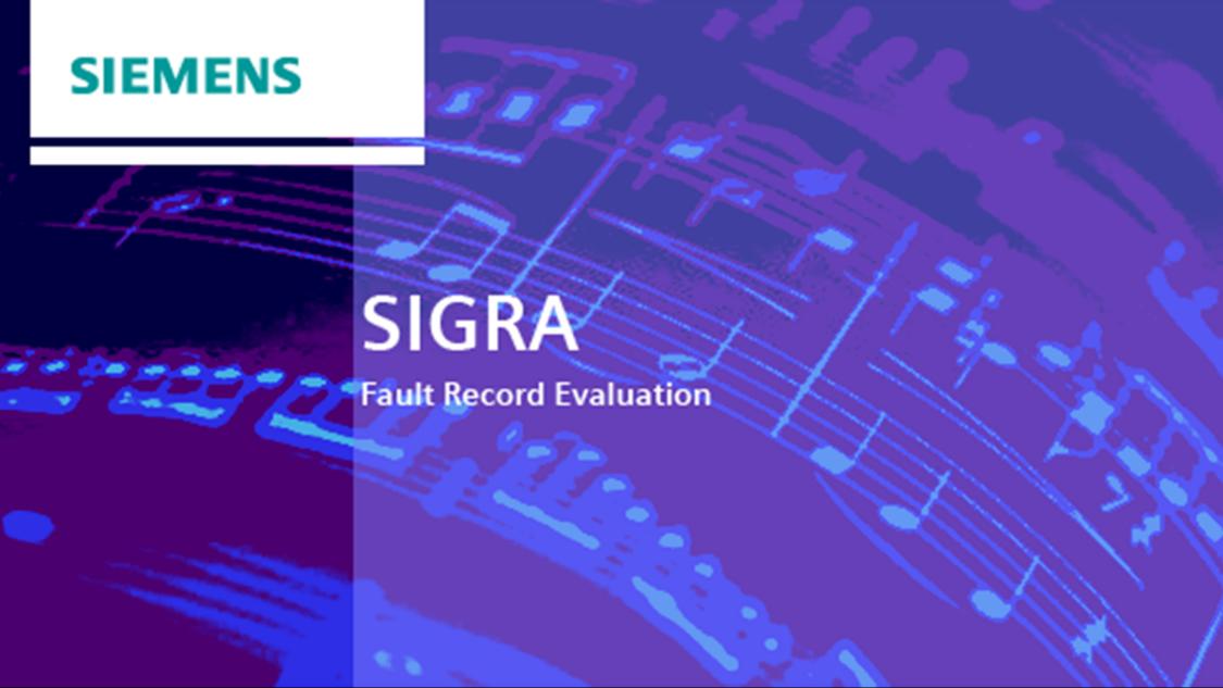 Störschriebauswertung – SIGRA