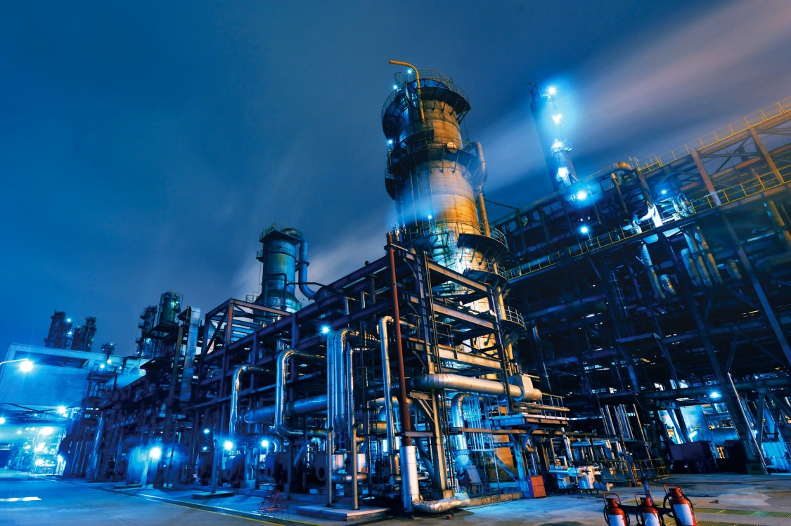 Contact for the chemical industry