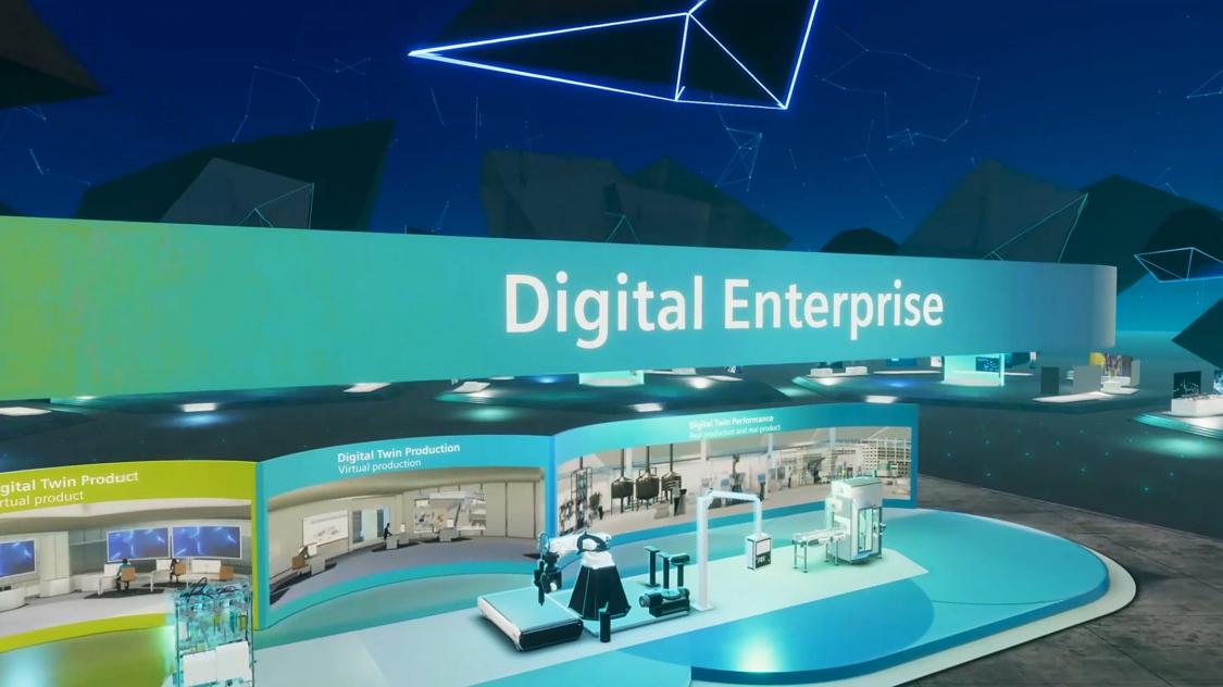 Wirtualny showroom Digital Enterprise SPS Dialog
