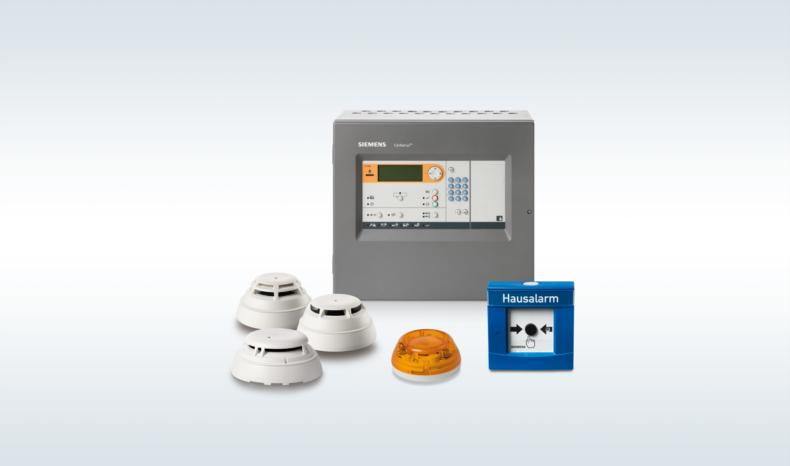 Siemens | Cerberus FIT – adressierbare Brandwarnanlage