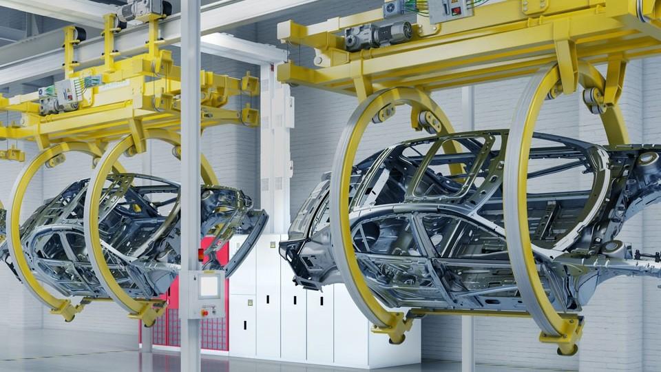 Комплексное энергоснабжение для автомобильной промышленности