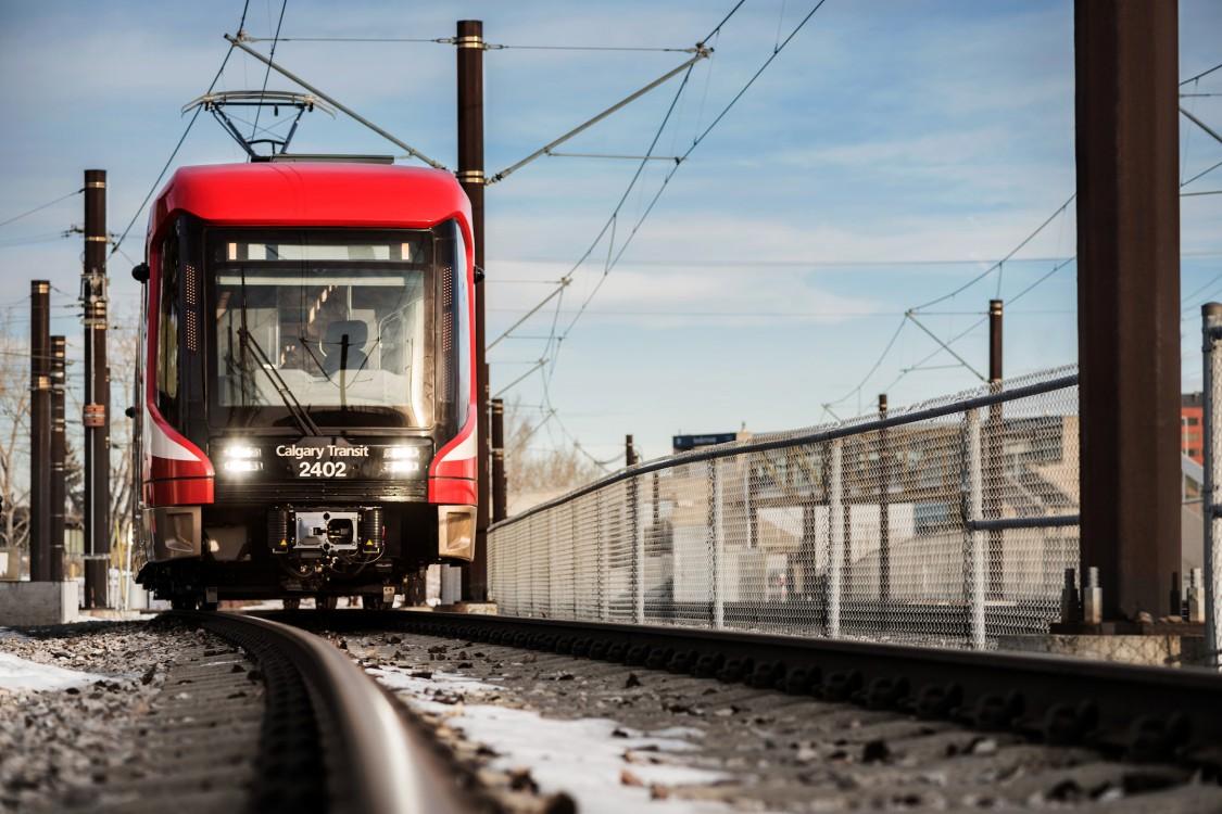 Calgary Transit  véhicule légers sur rail S200