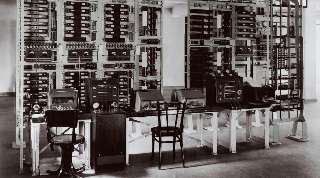 Телексное бюро в Берлине, 1933 год