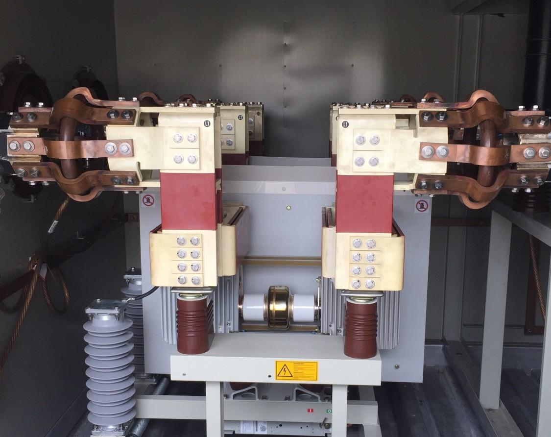 Custom engineered and installed medium-voltage vacuum generator circuit breaker