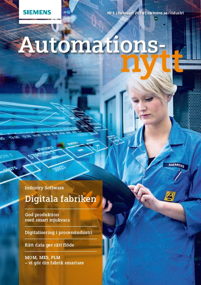 Automationsnytt Nr 1  | Februari 2016