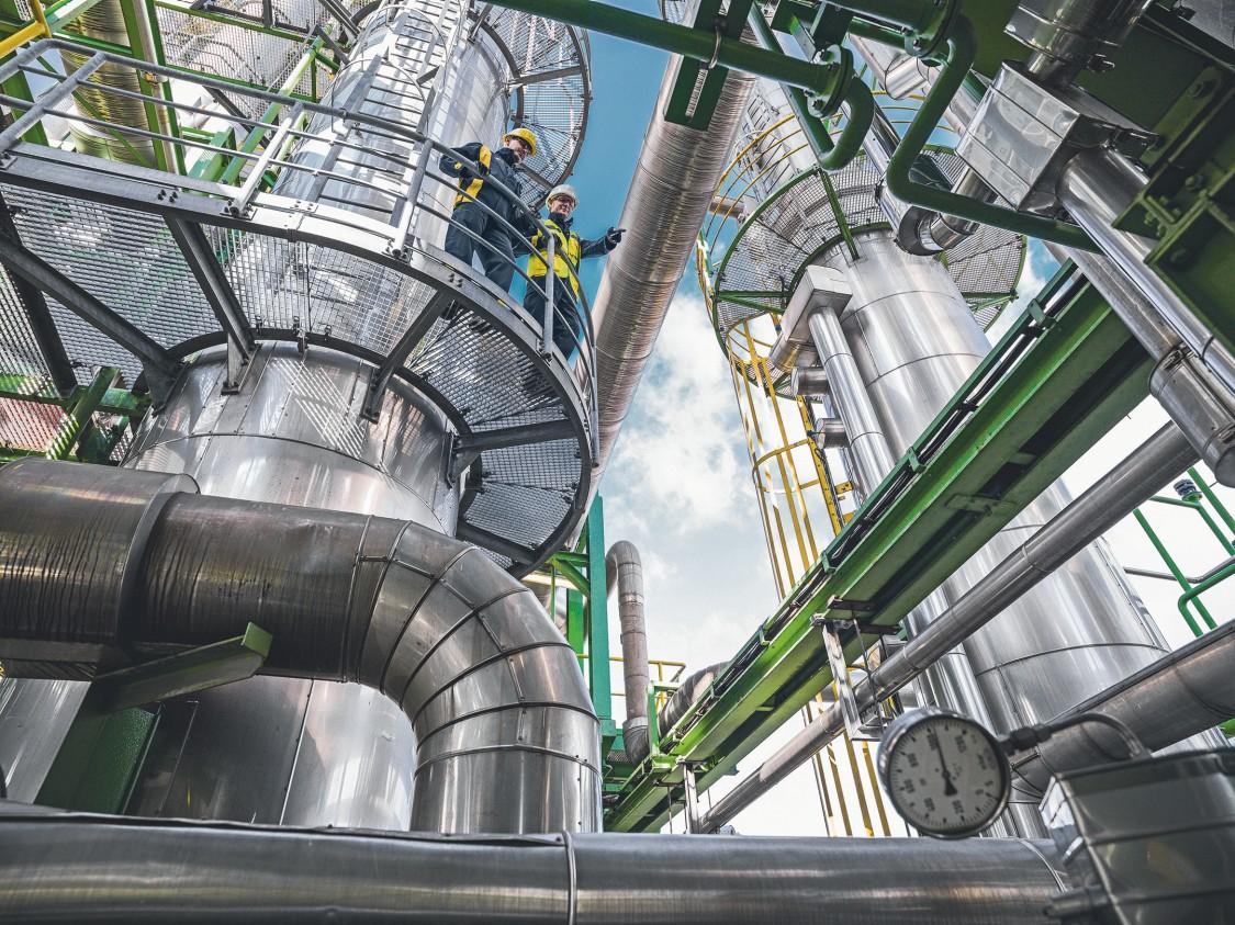 BASF Antwerp power plant