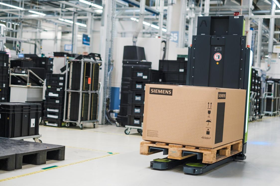 SIMATIC RTLS project in Siemens factory in Fuert