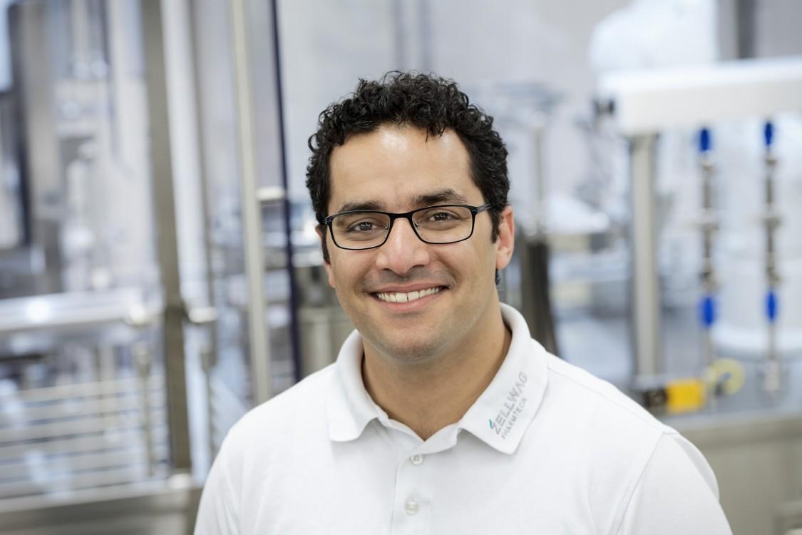 Ahmad Asraf, Team leader for automation at Zellwag Pharmtech AG