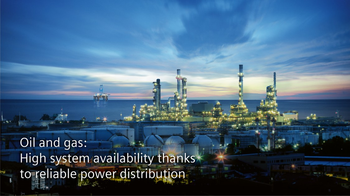 Oil and gas: High system availability thanks to reliable power distribution