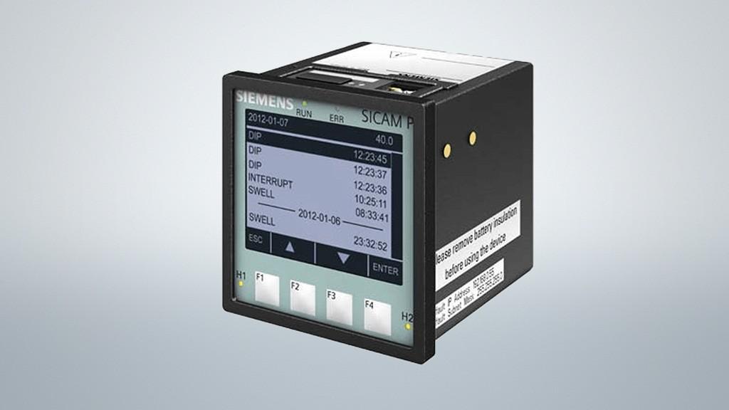 Power Quality Recorder SICAM Q100