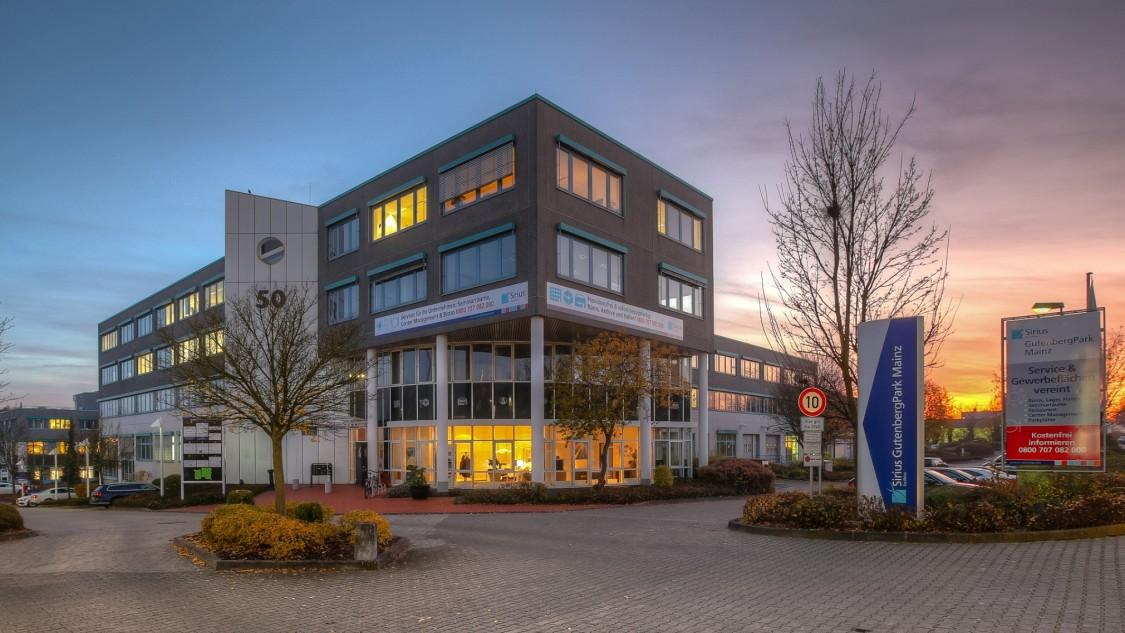 Siemens Niederlassung Mittelrhein am Standort Mainz
