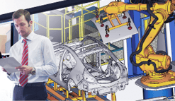 Robotersimulation und Programmierung Key Visual