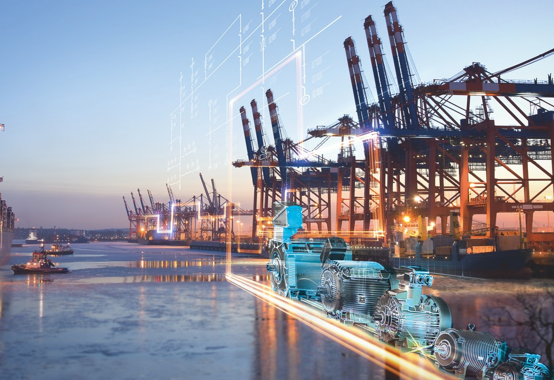 Motors for Harbor Cranes