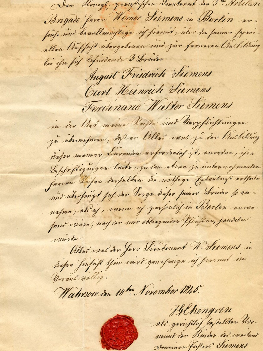 Fraternal solidarity – Guardianship is formally authorized, 1845