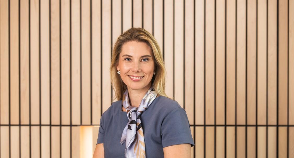 Maria Grahm, chef för Process Automation inom Digital Industries på Siemens.