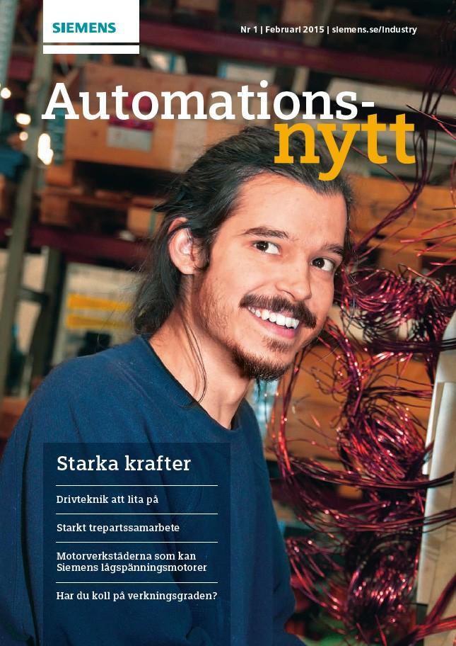 Automationsnytt Nr 1 | Februari 2015