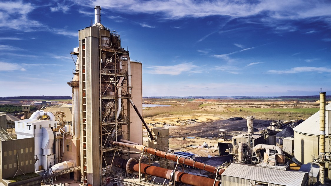 Der Sitz von Hanson Cement