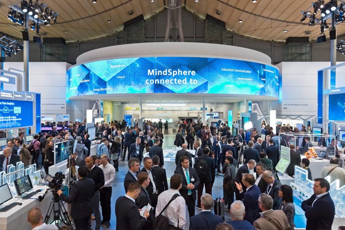 Siemens @ Hannover Messe