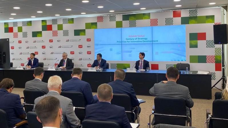 Александр Либеров, Президент «Сименс» в России, принял участие в круглом столе «Century of Strategy. Приоритеты инновационного развития».