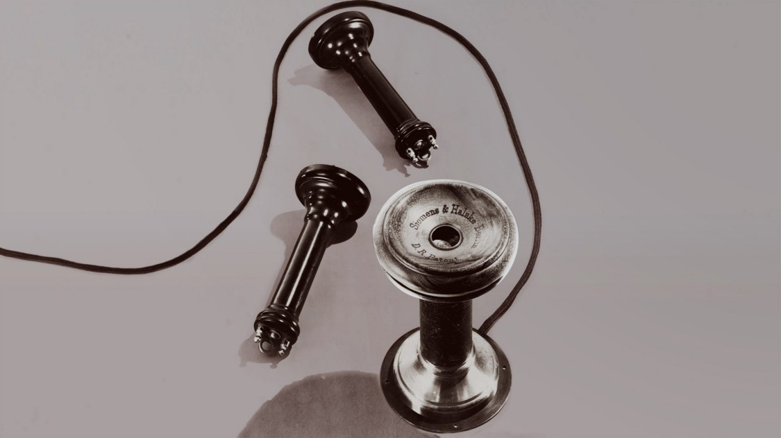 Телефон компании «Сименс и Гальске» (Siemens & Halske), 1878/79 год