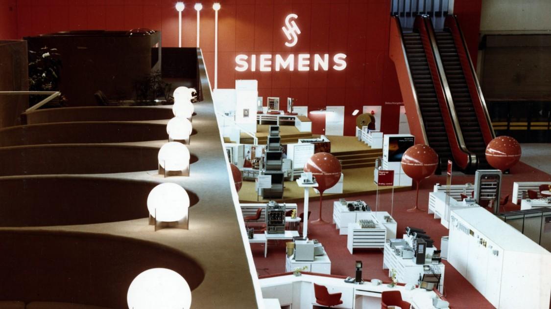 Siemens both Hannover Messe, 1970