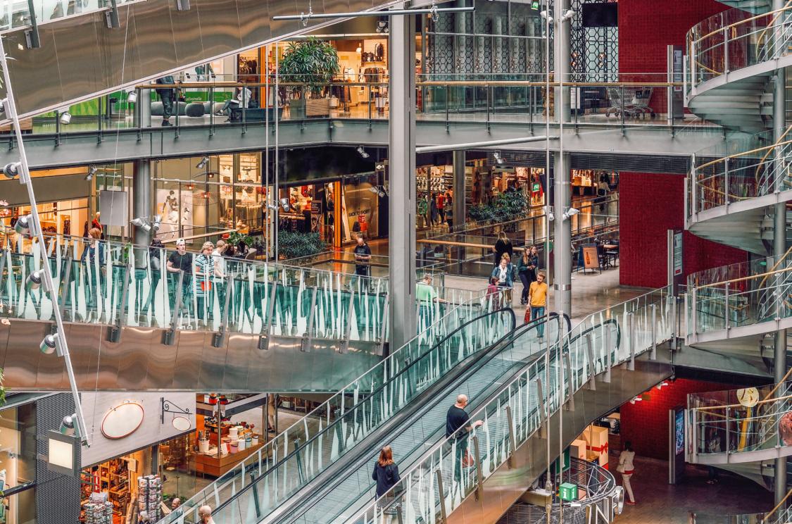 Trajnost v nakupovalnem centru