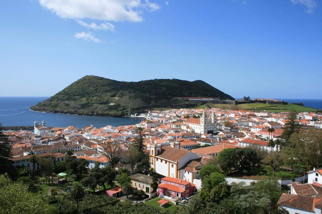 L'île de Terceira dans les Açores