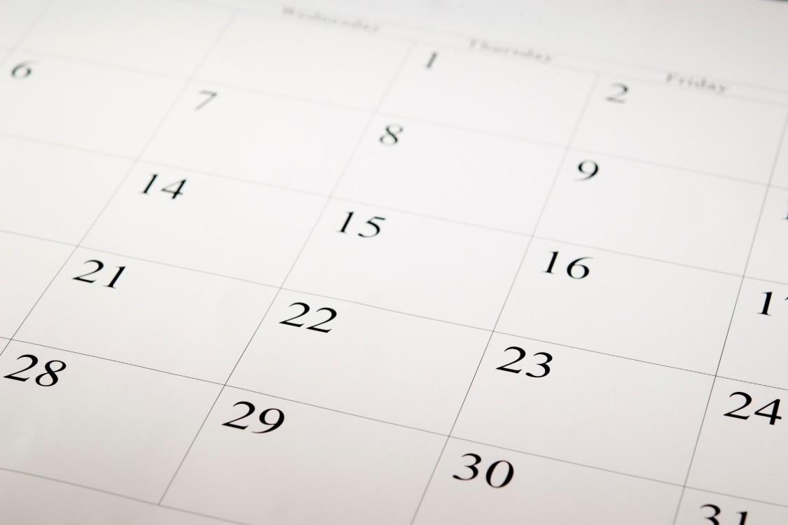 TechAdvantage calendar