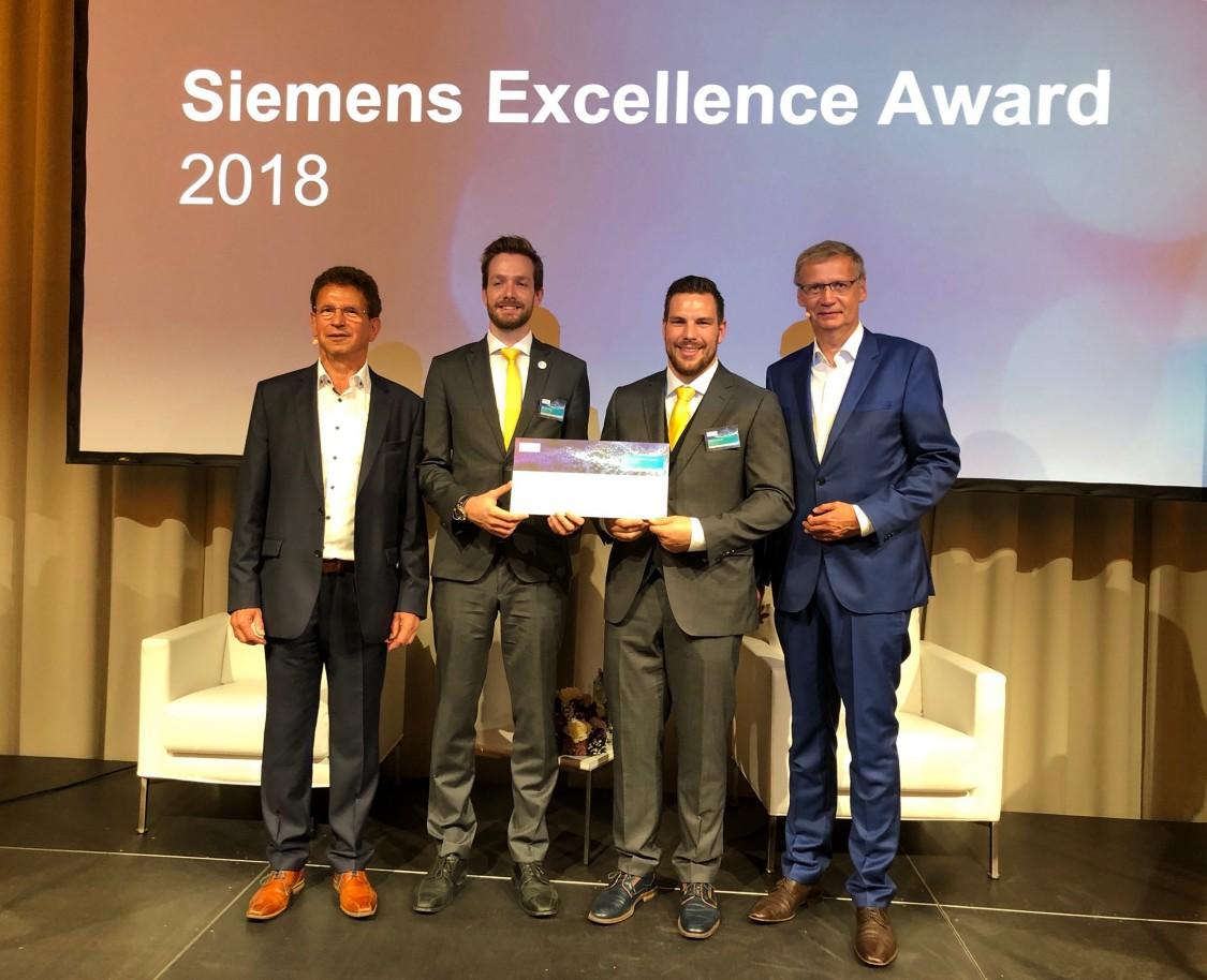 Siemens Excellence Award: Wir wollen junge Menschen zur wissenschaftlichen Auseinandersetzung mit praxisrelevanten Fragestellungen motivieren.